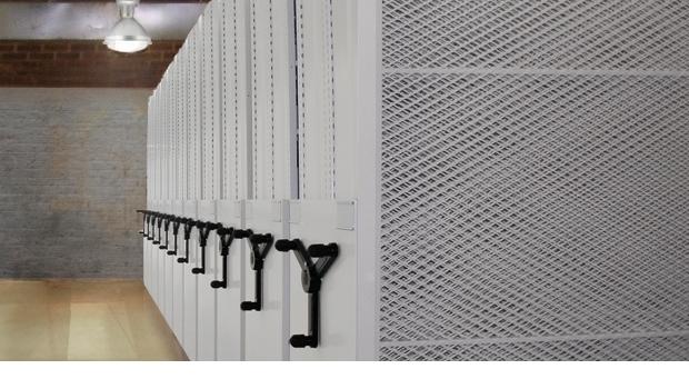 archivador movil o Rodante metálico fabrica en bogota
