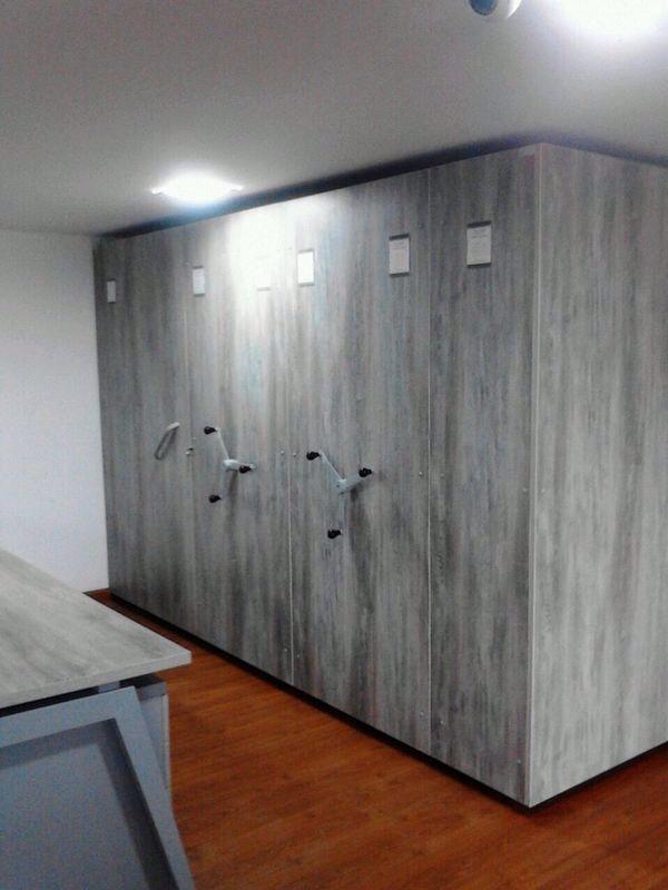 archivador móvil - Rodante Metálico Y MADERA Fabrica SOLMETAL SAS
