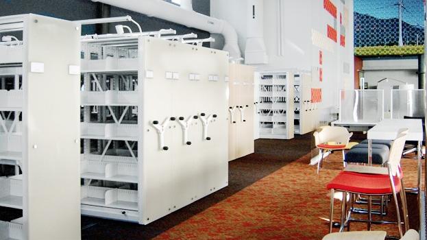 archivador móvil - Rodante Metálico Fabrica SOLMETAL SAS
